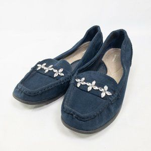 Basic Editions Womens Flat Moccasin Size US 10 M